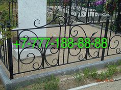 Оградки на кладбище 42