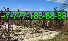 Оградки на кладбище 43