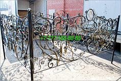 Оградки на кладбище 44