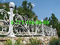 Оградки на кладбище 46
