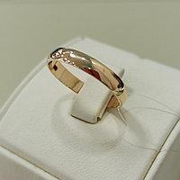 Обручальное кольцо / красное золото - 19,5 размер