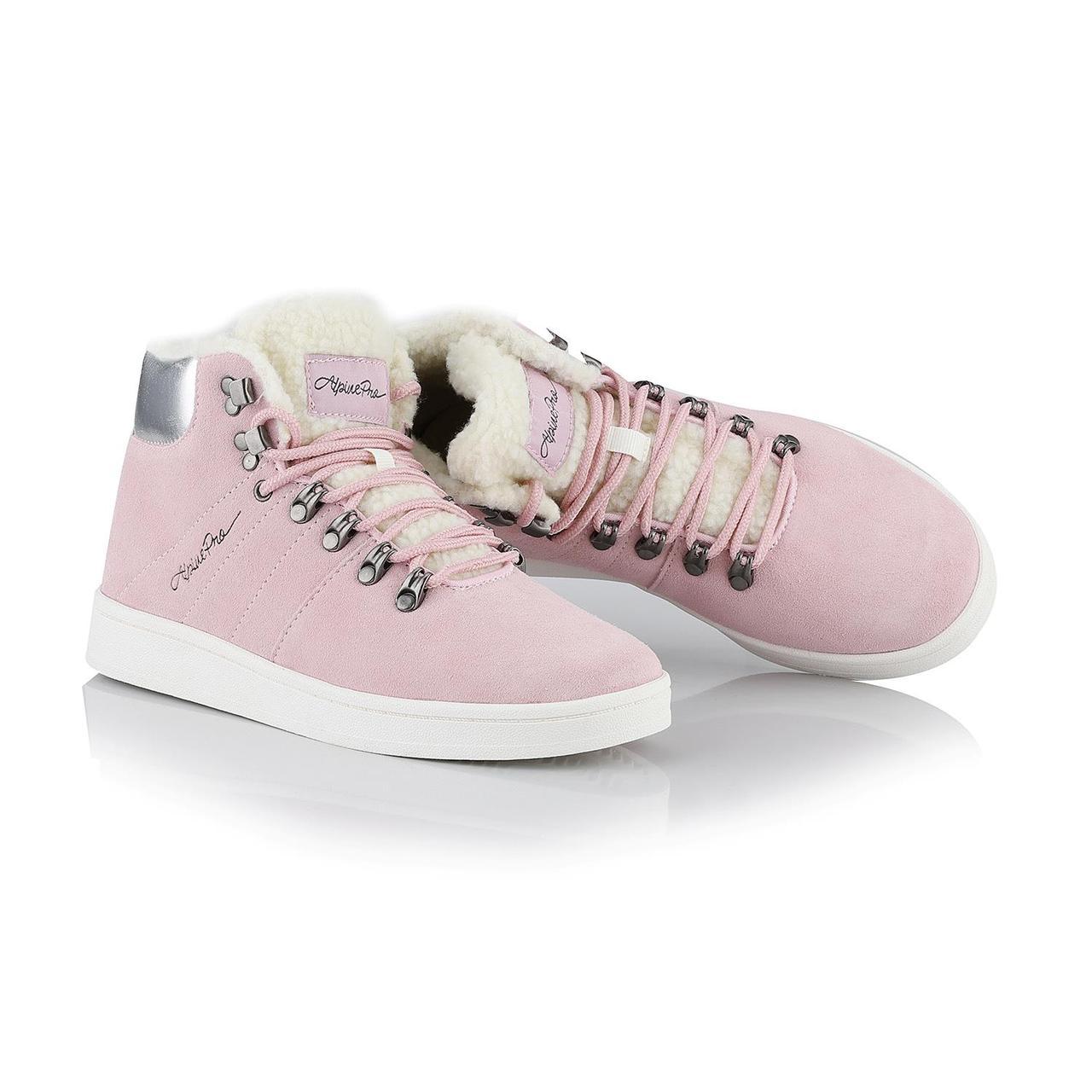 Ботинки MANDELTNA Розовый, 38 - фото 7