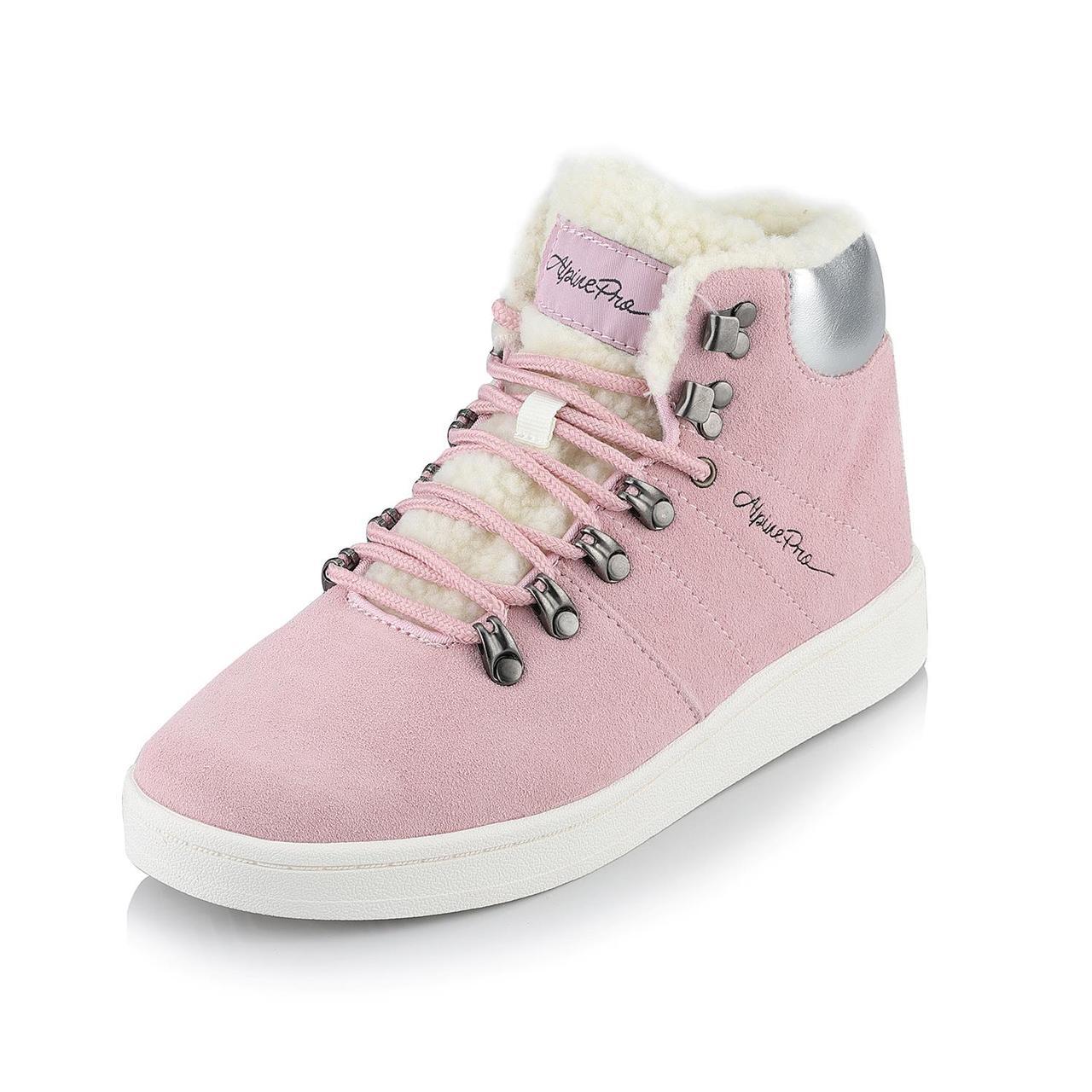 Ботинки MANDELTNA Розовый, 38 - фото 2