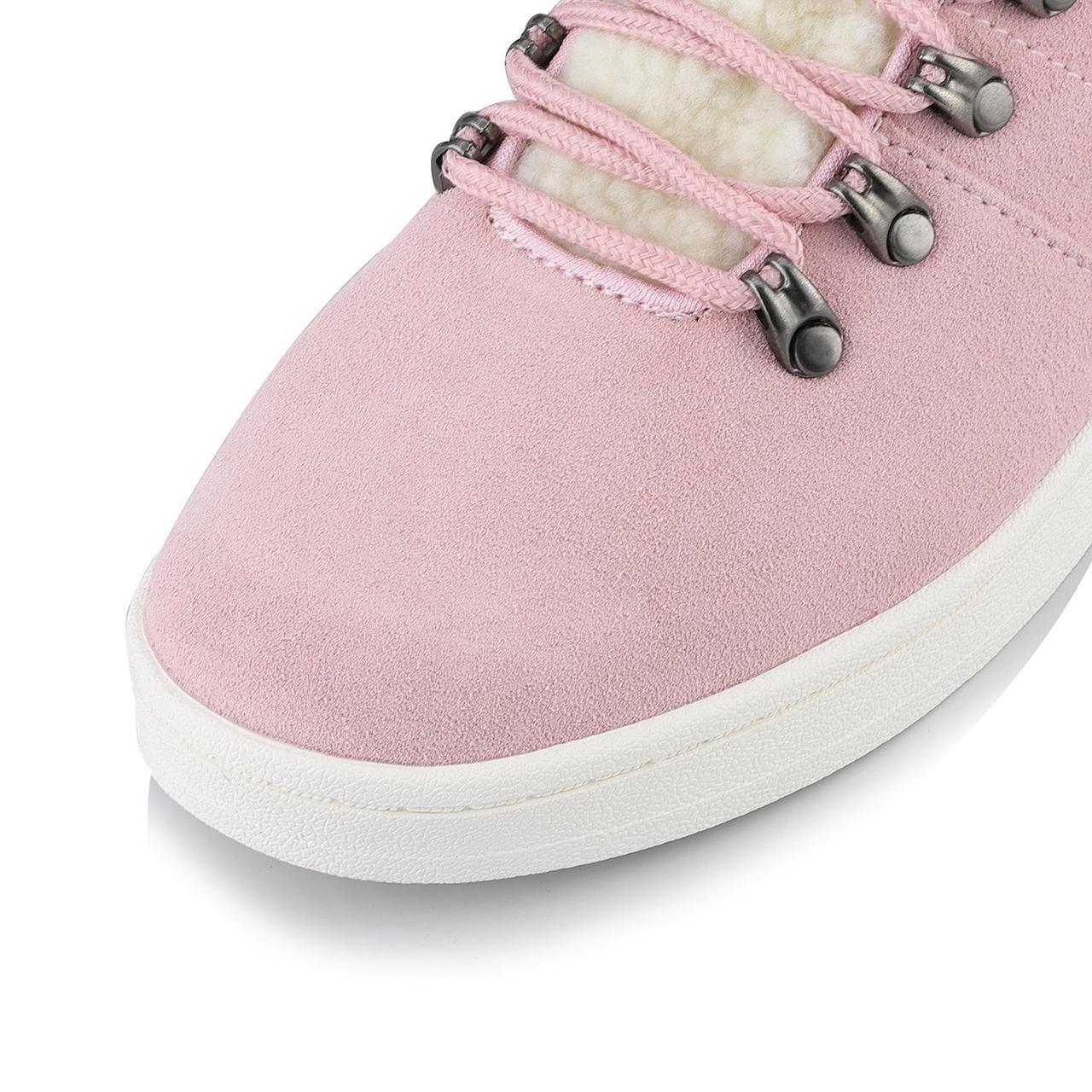 Ботинки MANDELTNA Розовый, 38 - фото 5