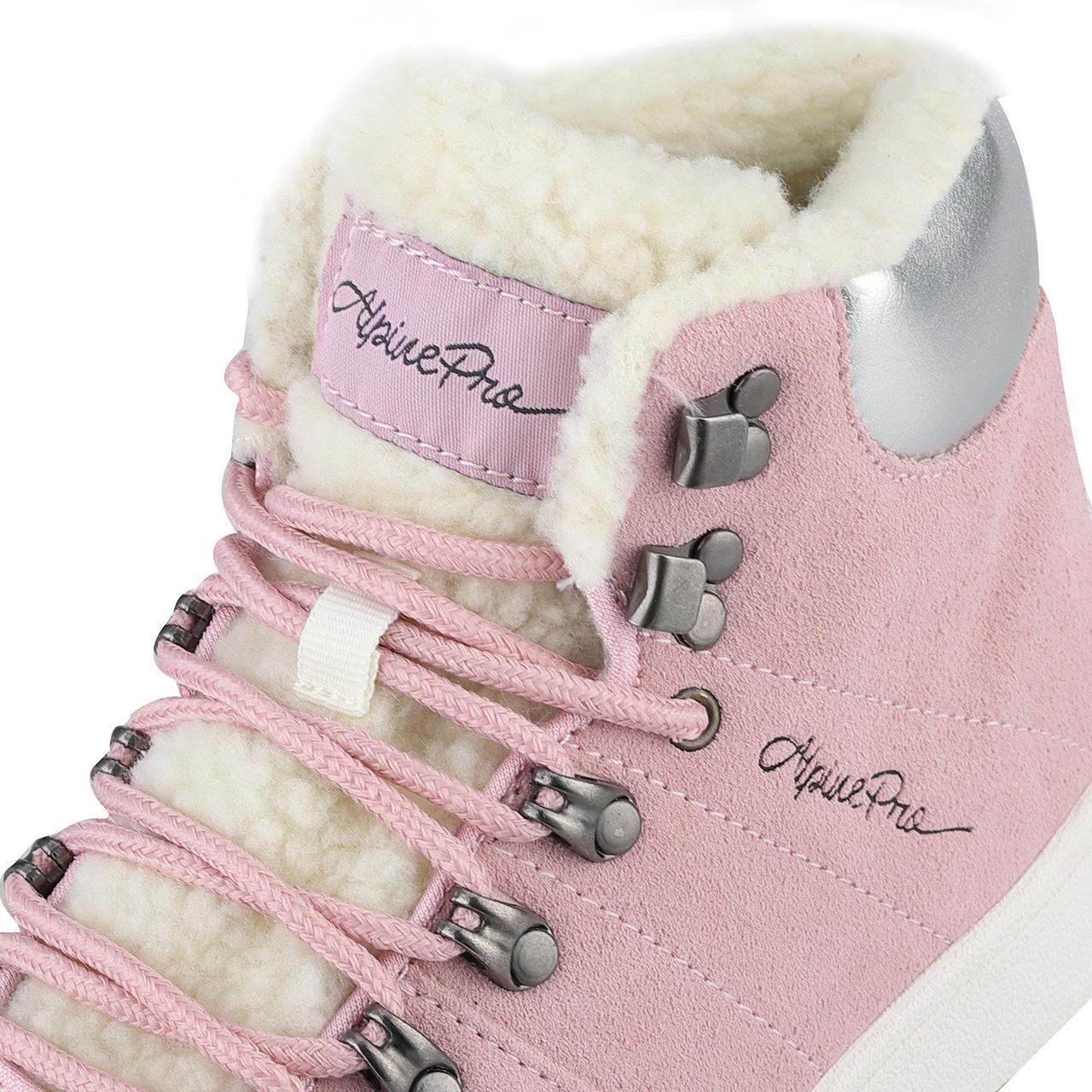 Ботинки MANDELTNA Розовый, 38 - фото 6