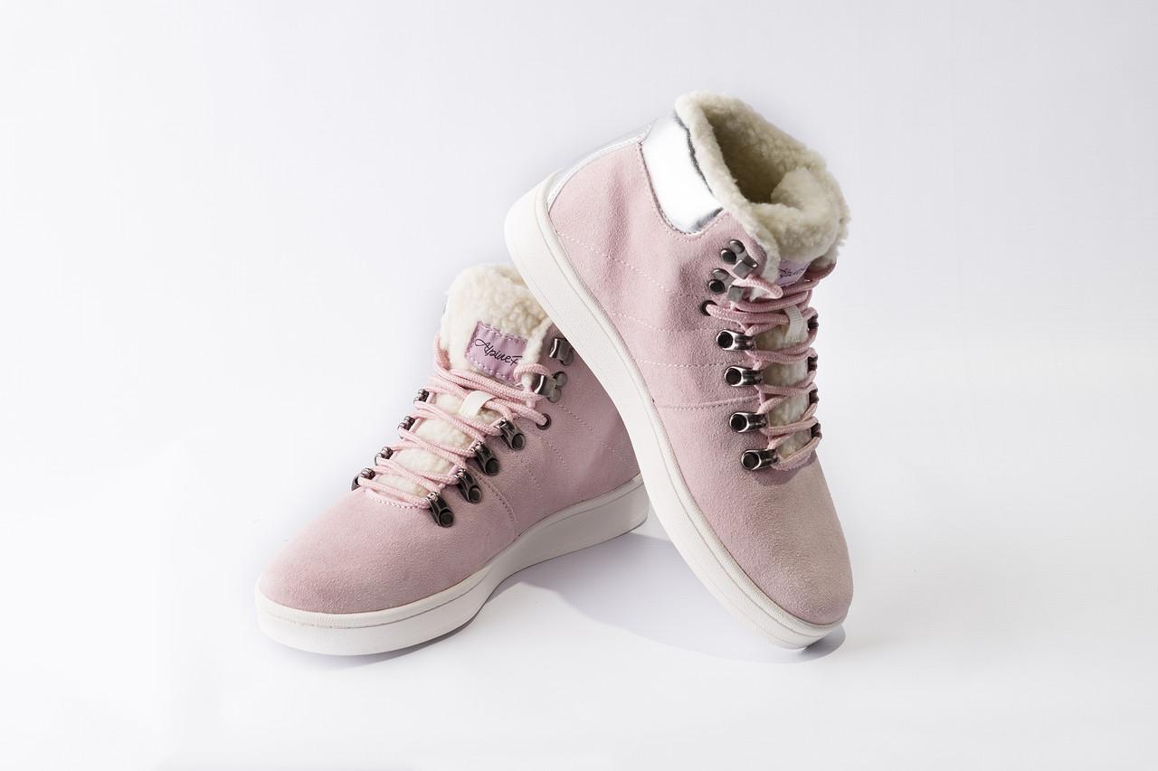Ботинки MANDELTNA Розовый, 38 - фото 8