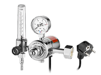 Регулятор расхода газа универсальный Сварог У-30/АР-40-1П-220-Р (1C008-0117 AR/CO2 220V)
