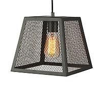 Лофт потолочный подвесной светильник 9221 1bk люстра