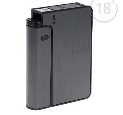 """Портсигар с толкателем для сигарет """"Классика"""", микс, 9.5х7 см"""