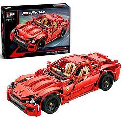 Decool 33007 Конструктор Гоночный автомобиль Ferrari Красное Пламя, 1441 дет. (Аналог LEGO)