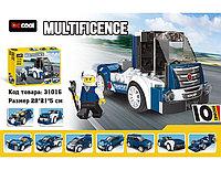 """Decool 31016 Конструктор 20 в 1 """"Тяжелый грузовик"""", 216 дет. (Аналог LEGO)"""