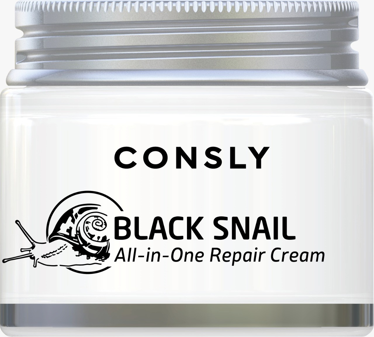 Consly Многофункциональный Восстанавливающий Крем с Муцином Черной Улитки Black Snail Cream 70мл.