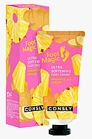 Consly Крем для ног с экстрактами ананаса и имбиря Ultra Softening Pineapple and Ginger Foot Cream / 100 мл.