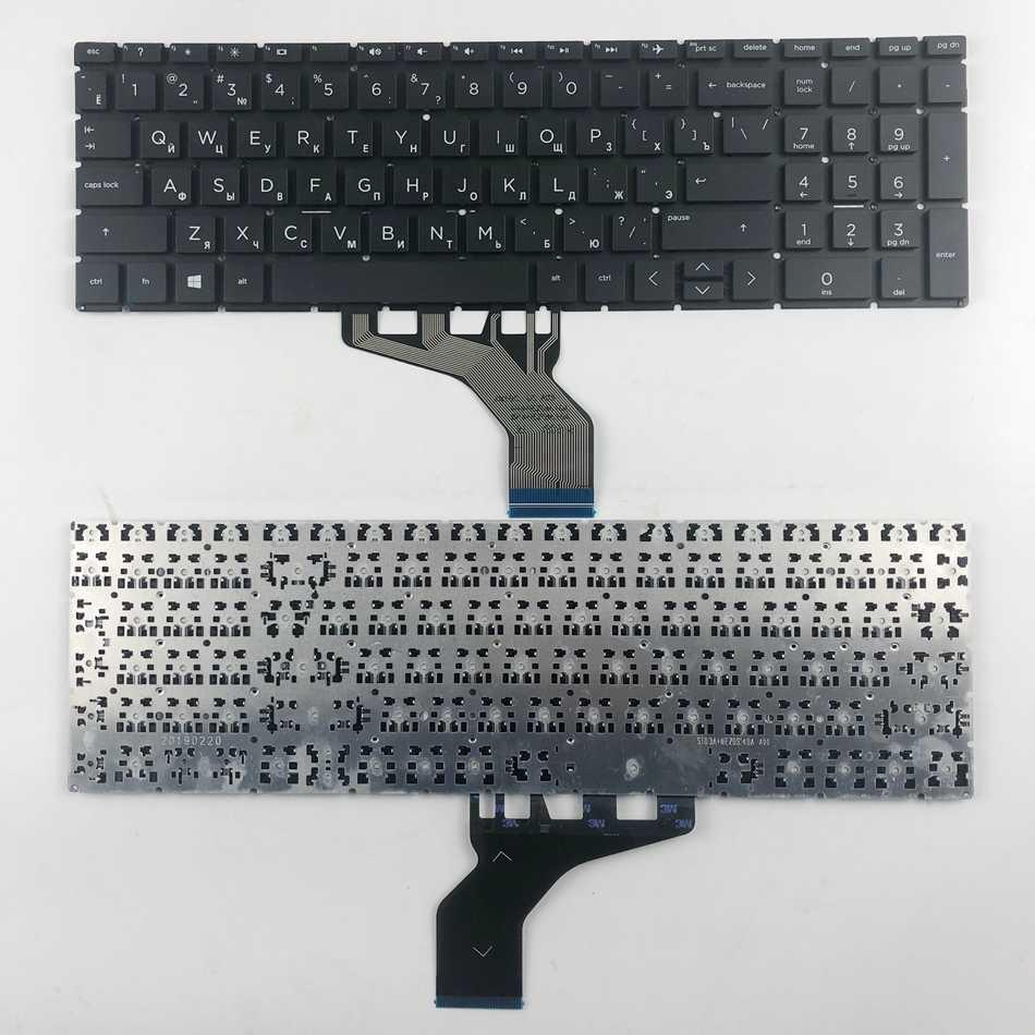 Клавиатура для HP 15-DA, 15-DB, 250 G7 серии черная