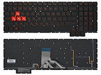 Клавиатура для HP Omen 15-CE черная с подсветкой
