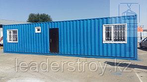 Жилье для строителей на базе 20 или 40 футовых контейнеров