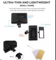Прожектор  Lightdow LD-160 с регулируемой яркостью и цветными фильтрами, фото 2