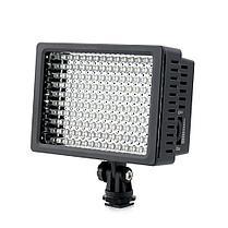 Прожектор  Lightdow LD-160 с регулируемой яркостью и цветными фильтрами, фото 3