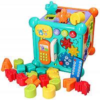 Логический кубик для деток 9935