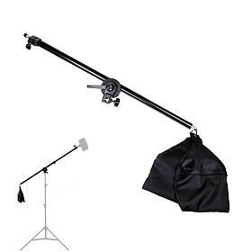 Наклонная студийная стойка - журавль для света с перекладиной