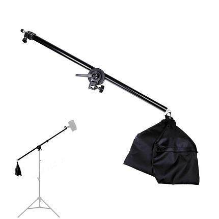 Наклонная студийная стойка - журавль для света с перекладиной, фото 2