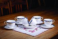 Набор чайных пар на 6 персон Ноктюрн (Акку, Казахстан)