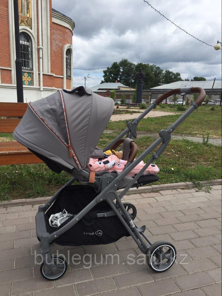 Коляска прогулочная Happy Baby LUNA grey