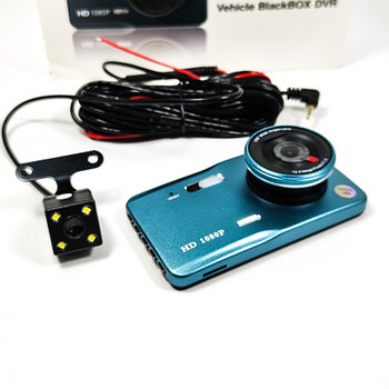Автомобильный Видеорегистратор Q6L,Full HD на 2 камеры