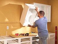 Навеска шкафов, сборка разборка мебели замена смесителей