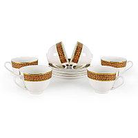 Позолоченные чайные пары на 6 персон Триумф (Акку, Казахстан)