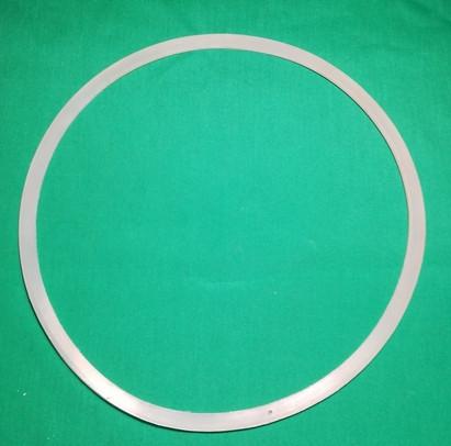 Силиконовая п-образная прокладка для кубов Люкссталь 50л белая 2х4 мм
