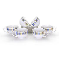 Позолоченные чайные пары на 6 персон Айлин (Акку, Казахстан)