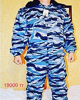 Зимний костюм для рыбалки и охоты брезент