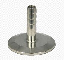 """Переходник с клампа 2"""" (k64) на трубку 10 мм, высота 40 мм."""