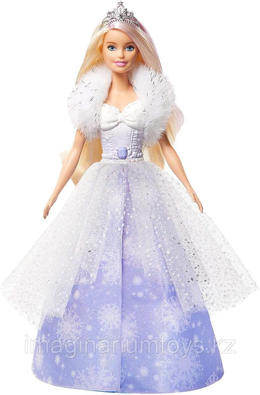 Кукла Barbie Снежная принцесса Dreamtopia - фото 3