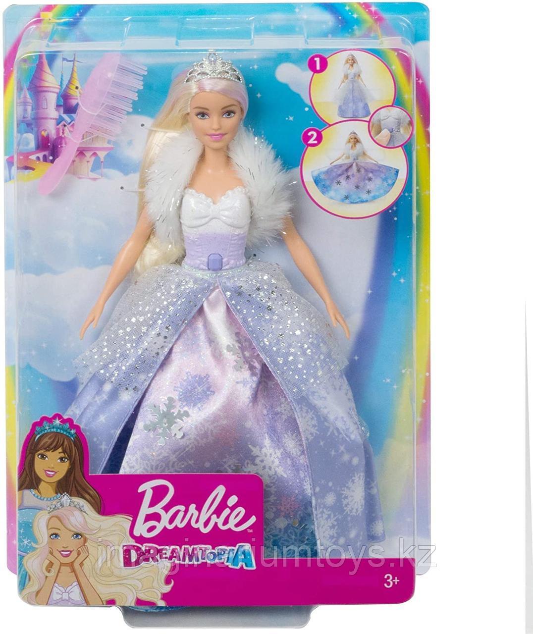 Кукла Barbie Снежная принцесса Dreamtopia - фото 2