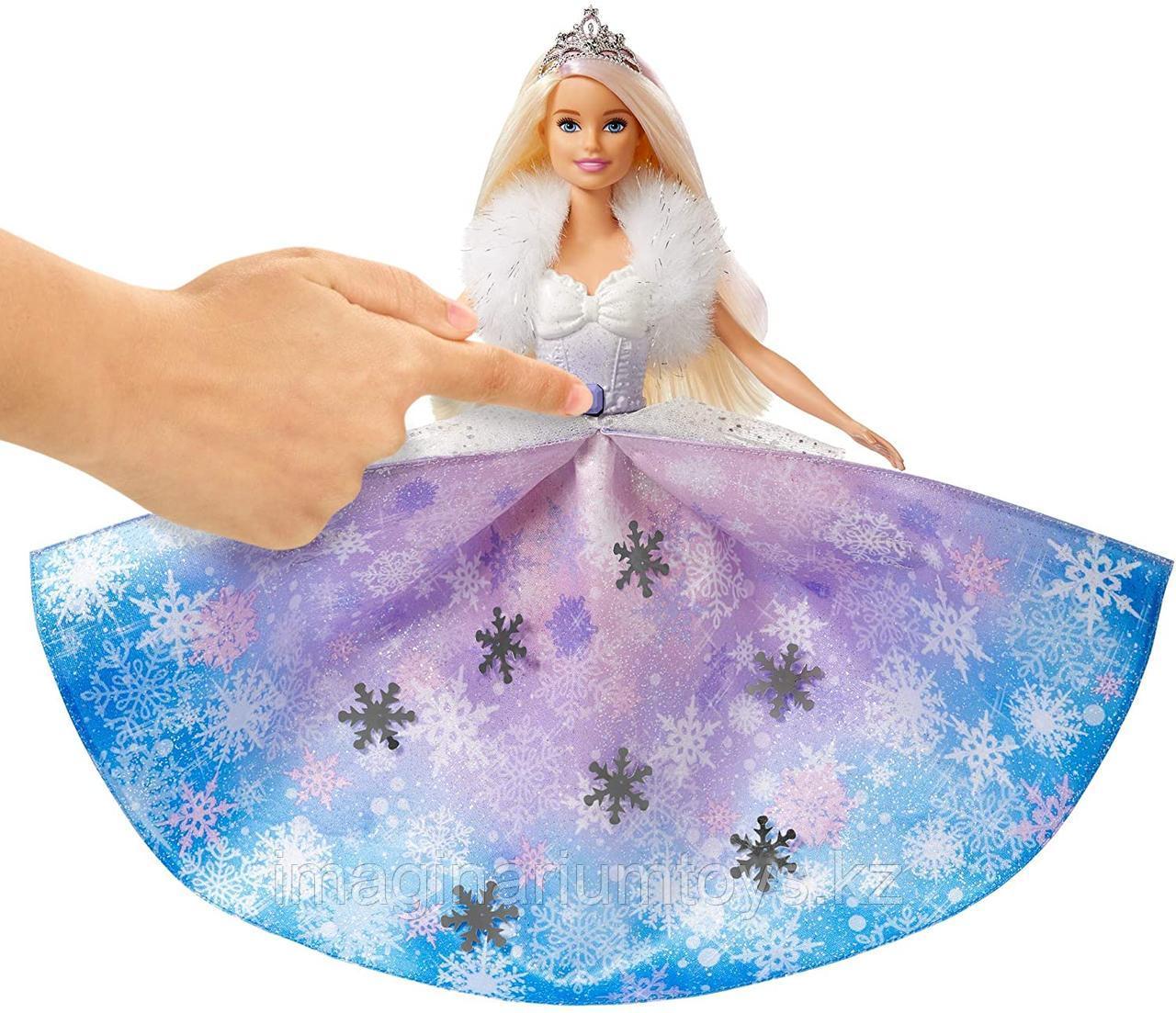 Кукла Barbie Снежная принцесса Dreamtopia - фото 4