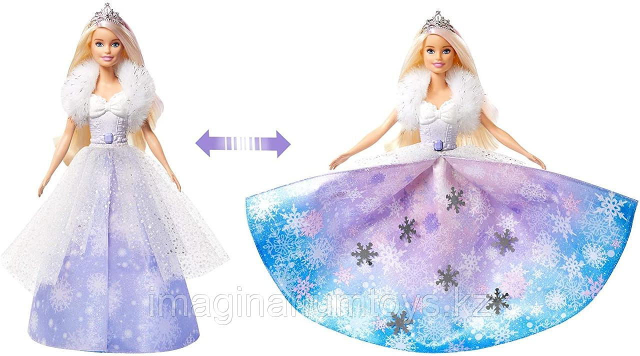 Кукла Barbie Снежная принцесса Dreamtopia - фото 1