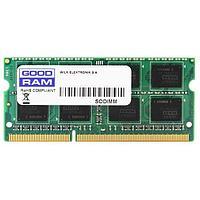 Оперативная память для ноутбука 4Gb DDR3 1333Mhz GOODRAM SODIMM PC3-10600 CL9 GR1333S364L9S-4G