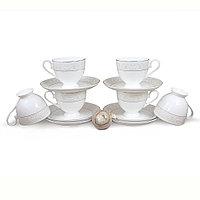 Позолоченные чайные пары на 6 персон Ариадна (Акку, Казахстан)
