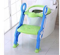 Сиденье для унитаза с лесенкой и ручками PITUSO Зеленый GREEN