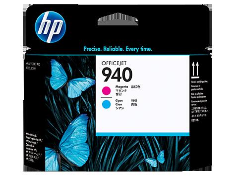 HP C4901A Печатающая головка пурпурный и синий. HP 940