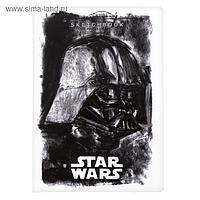 Бизнес-блокнот (cкетчбук) А5, 80 листов «Звёздные войны. LUCAS», твёрдая обложка, блок 100 г/м2