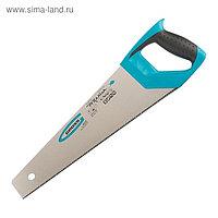 Ножовка по дереву GROSS PIRANHA, 400мм, 11-12 TPI, заточка 3D, калёный зуб