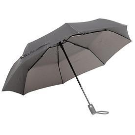 Автоматический ветрозащитный складной зонт ORIANA, серый