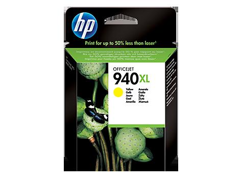 HP C4909AE Картридж желтый, 940XL