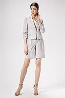 Женский летний льняной серый деловой жакет Панда 475030 серый 42р.