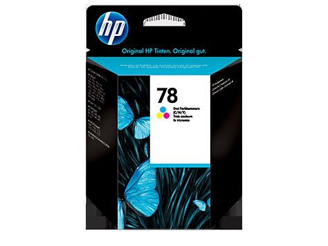 HP C6578D Картридж трехцветный, HP 78