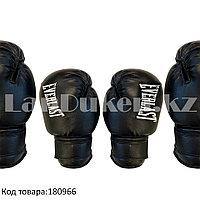 Детские перчатки для бокса Everlast черные OZ-2