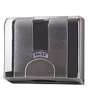 Диспенсер для полотенец Z укладки, прозрачный серый